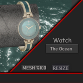 Eva watch - the ocean Gift