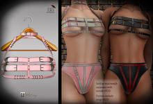 (*<*) 1313 Cara Top & Collar - Pink