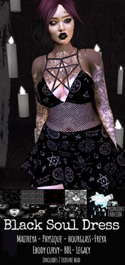 ::AMF::Black Soul Dress