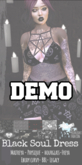 ::AMF:: DEMO Black Soul Dress