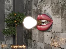 .: RatzCatz :. Lamp *Lips* wall