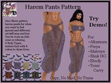 Harem Pants Pattern (ADD ME)