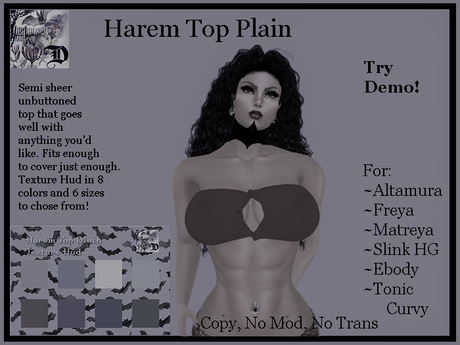 Harem Top Plain DEMO (ADD ME)