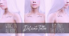 BS - Delicate Tattoo BOM