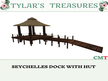 .:TT:. SEYCHELLES DOCK WITH HUT BOX