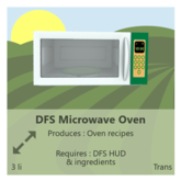 DFS Microwave Oven