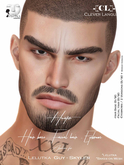 -[CL]- Hunter Full Set HairBase-Eyebrows-Beard (BOM/Lelutka)