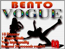 MocapAnimations Vogue BENTO dance Pack!