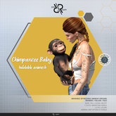 [Rezz Room] Box Chimpanzee Baby Animesh (Holdable)