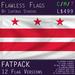 District of Columbia (Washington DC), USA Flag (Fatpack, 12 Versions)
