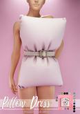 Pink Charcoal - Pillow Dress