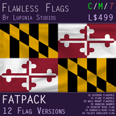 Maryland Flag (Full Kit, Boxed) - Flawless Flags