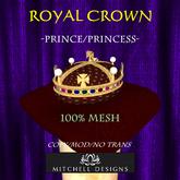 Royal Crown - Prince/Princess