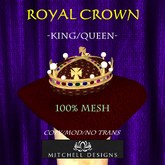 Royal Crown - King/Queen
