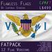 US Virgin Islands Flag (Fatpack, 12 Versions)