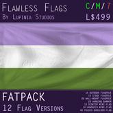 Genderqueer Pride Flag (Fatpack, 12 Versions)