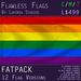 Gay Pride Flag (Fatpack, 12 Versions)