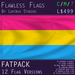 Pansexual Pride Flag (Fatpack, 12 Versions)