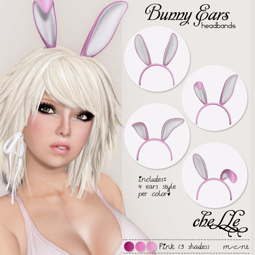 cheLLe (headbands) Bunny Ears