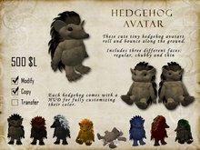 Tiny Hedgehog Avatar