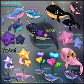 9.YOKAI - Plush Ocean - Lady Whale (purple dream)