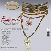 *La Forgia Jewels - Esmeralda Necklace*