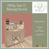 {Why Not} Maraig Server -Boxed