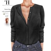 Thalia Heckroth - Liana top BLACK