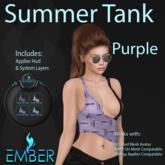 EMBER Summer Tank Purple