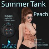 EMBER Summer Tank Peach