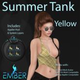 EMBER Summer Tank - Yellow