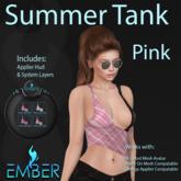 EMBER Summer Tank  Pink