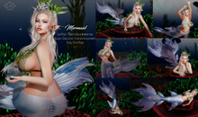 Lush Poses - Mermaid female bento pose pack