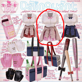 .tsg. Delinquent Uniform - Pink [Physique Fit]