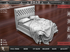 {::ROAR::} Full Perm Mesh (Campaign Product) Quilted Great Bed