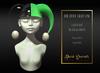 Dark Secrets - The Little Crazy One Hat - Black & Green