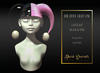 Dark Secrets - The Little Crazy One Hat - Black & Pink