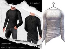 REINVENT I Shabby Tunic I White [Belleza Jake, Signature Gianni & Geralt, Legacy (male)]