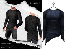 REINVENT I Shabby Tunic I Ocean [Belleza Jake, Signature Gianni & Geralt, Legacy (male)]