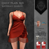 **Mistique** Emely Plain Red{wear me and click to unpack)