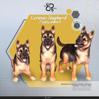 [Rezz Room] Box German Shepherd Puppy (Companion)