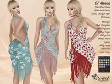 PROMO - ST :: Nanna Outfit for Maitreya Lara, Slink (P, H), Belleza (V, I, F), Legacy, Tonic (C, F) & eBody. 12 Text HUD