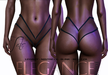 "Elegance Boutique -Fishnet Panties  -  "" Tata"""