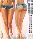 adorsy - Zizel Ripped Denim Jeans Shorts Fatpack - Maitreya/Legacy