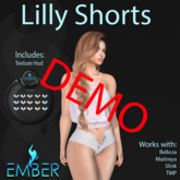 EMBER Lilly Shorts DEMO