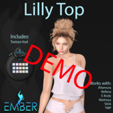 EMBER Lilly Top DEMO