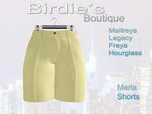 Birdie's Boutique - Maria Shorts - Yellow