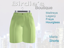 Birdie's Boutique - Maria Shorts - Lime