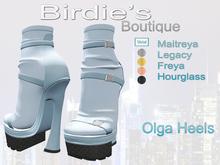 Birdie's Boutique - Olga Heels Baby Blue
