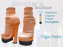 Birdie's Boutique - Olga Heels - Orange